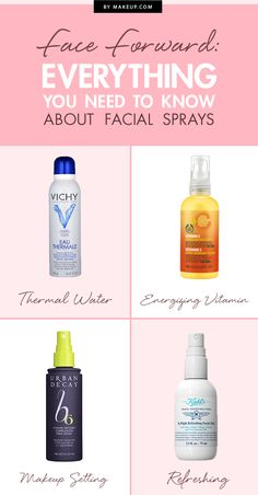 What's the best facial spray to use? What are they for? We have all your answers! Everything you need to know about facial sprays and which of these fabulous beauty products are our favorites.