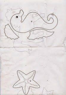 Menina de Pano | Blog: Moldes bichinhos do fundo do Mar