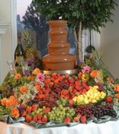 Ideas for chocolate fountain foods awesome Ideas. Ideas for chocolate fountain foods awesome Ideas for chocolate fountain foods awesom Chocolate Fountain Recipes, Chocolate Fountains, Best Chocolate, How To Make Chocolate, Giant Chocolate, Chocolate Cheese, Delicious Chocolate, Chocolate Desserts, White Chocolate