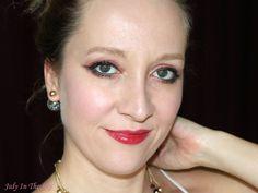 July In The Sky : blog beauté beauty lipstick avis test swatch Bourjois Aqua Laque viens si tu roses