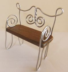 My new fairy bench with instructions at Away With The Fairies on FB