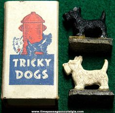 2 Pair Scotty Magnetic Tricky Dogs Best Selling Novelty of All Time!