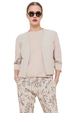 Akris punto Reversible Print Cotton Jacket available at #Nordstrom