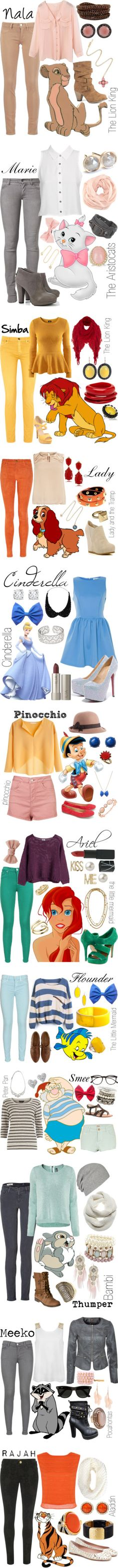 """✦Disney Inspired Looks✦"" by koolkid4ever on Polyvore"