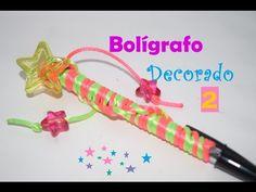 Bolígrafo decorado #2 -  DIY - FÁCIL - YouTube