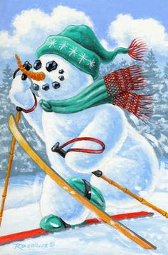 Dashing Through the Snow by Richard De Wolfe