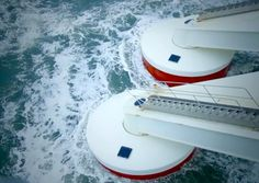 One company has started developing a wave energy generation system that can be placed in tandem with off-shore wind turbines.
