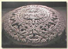 Calendario Azteca  @ museo de antropologia México