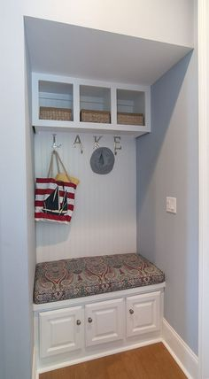 A mud room allows for extra storage! http://www.dongardner.com/plan_details.aspx?pid=4229. #MudRoom #Extra #Storage
