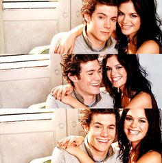 the oc - rachel bilson and adam brody (seth + summer)