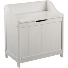 Buy Monks Bench Style Laundry Box - White at Argos.co.uk, visit Argos.co.uk to shop online for Linen baskets and laundry bins, Linen baskets and laundry bins