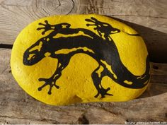 Salamandre jaune