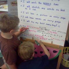 Writer's Workshop Promise