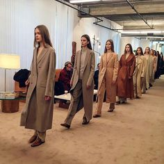 Neutrals? Yes, there were plenty, from beige to caramel to nut brown.