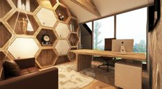 Metropolis Honeycomb Project- Study Room