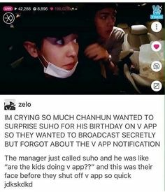 When prank goes wrong lol XD || This was hilarious, the look on Chanyeol's face will forever be one of his best expressions....period. #EXO #Chanyeol #Sehun
