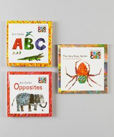 Love this Eric Carle Lift-the-Flap Paperback & Hardcover Set by Penguin on #zulily! #zulilyfinds