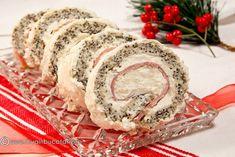 Prajitura cu mac, crema de branza si lamaie – simpla, buna, racoritoare. Un desert potrivit pentru masa in familie sau petreceri. Crema este aromata, cu gust racoritor, o face perfecta pentru orice zi aveti pofta sa va rasfatati cu un desert usor si rapid de pregatit. INGREDIENTE: 6 albusuri (230 g) 200 g zahar 200 … Romanian Food, Romanian Recipes, Rolls, Appetizers, Pizza, Baking, Christmas, Cooking, Salads