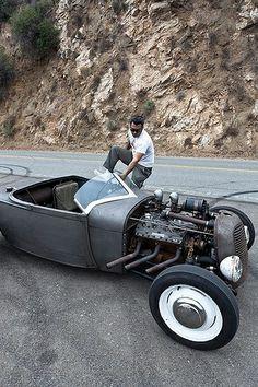 Sin título Hot Rods, Buick, Carros Audi, Modern Hepburn, Traditional Hot Rod, T Bucket, Old School Cars, Harley, Chevrolet Camaro