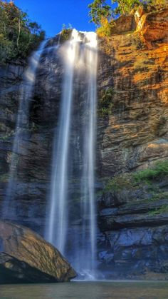 On the campus of Toccoa Falls College is this waterfall. What a place to study/read/relax! In north Georgia >> Why, hello Georgia...I had no idea. :)