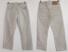 Kultowe spodnie Levis męskie model 501 r.W30 L32