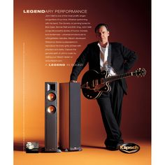 John Hiatt featured in an ad promoting the Klipsch Reference Series loudspeakers. For more information on the Reference series, go to http://www.klipsch.com/reference