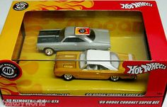 1969 Dodge Coronet Super Bee 1969 Plymouth Hemi GTX 100% Hot Wheels 2008