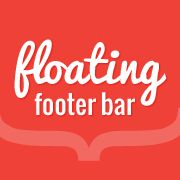 Step by step guide on how to create a sticky floating footer bar in WordPress without using a plugin. Floating Footer Bar increase clicks and conversion.