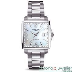 Certina DS Podium Lady Square C001.310.11.117.00 www.chronojuwelier.com