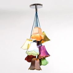 Pendant Lamp Saloon Flowers 9 now featured on Fab.
