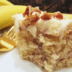 "Banana Cake VI | ""This is my first banana cake and I followed the recipe exactly. Boy am I glad I did! This is so moist and delicious!!!!"""
