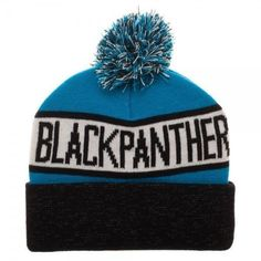 18be28847d9 Black Panther Reflective Cuff Beanie