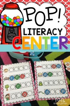 Here is is a fun 2-4 player game to help your little learners practice building words with blends. Your students will use gumball letters to build each blend on their mat. The player who builds all their words first wins! #literacy #fun #groups