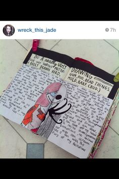 Wreck this journal