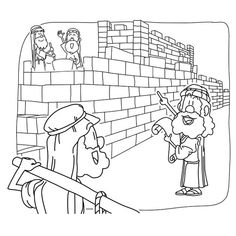 Rebuilding the Temple Bible Coloring Pages