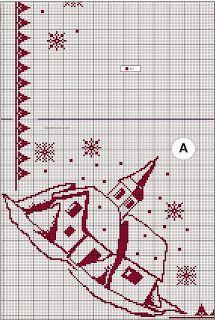 ACT FREE ☀: Χριστουγεννιάτικα σχέδια-μοτίβα-ιδέες για Κέντημα & Σταυροβελονιά! (μεγάλη ποικιλία)