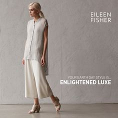 ca1dc6bd32 My Earth Day style is ENLIGHTENED LUXE! What s your EILEEN FISHER Earth Day  style    bit.ly 1NbnAW4