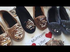 Crochet Shoes, Crochet Videos, Tory Burch Flats, Espadrilles, Shoes Sandals, Artisan, Slippers, Booty, Knitting