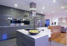 barras de cocina modernas con encimera