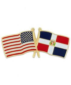 Home & Garden Badges Capable U.s.a Cuba Friendship Flag Badge Lapel Pin Pins Beautiful And Charming