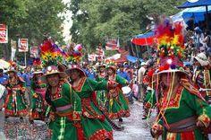 Carnaval in Oruro, Bolivia