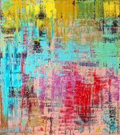 Абстракция ручной работы. Ярмарка Мастеров - ручная работа Абстрактная живопись. Glow - 2.. Handmade.