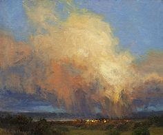 Evening Monsoon by Kim Casebeer Oil ~ 10 x 12