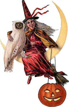Halloween Glanzbilder - Victorian Die Cut - Victorian Scrap - Tube Victorienne…