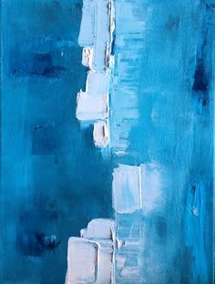 art painting blue Painting Abstract, Artwork, Blue, Toile, Work Of Art, Auguste Rodin Artwork, Artworks, Illustrators