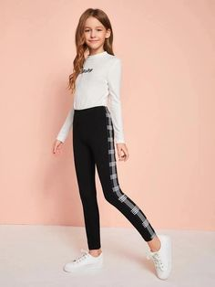 Leopard Leggings, Knit Leggings, Girls In Leggings, Girls Pants, Printed Leggings, Leggings Are Not Pants, Fashion Wear, Girl Fashion, Fashion Outfits