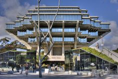 The Geisel Library at the University of California, San Diego (San Diego, CA)