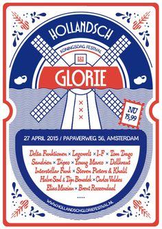 27 april Kingsday 2015 #Hollandschglorie #hollandschgloriefestival #amsterdam