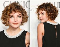 Short Curly Haircuts For Round Faces Short Curly Haircuts - Hairstyle for curly short hair round face
