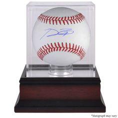 Prince Fielder Texas Rangers Fanatics Authentic Autographed Baseball and Mahogany Baseball Display Case - $229.99